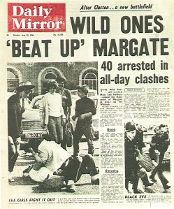 Daily Mirror (May 18, 1964) Wild Ones 'Beat up' Margate